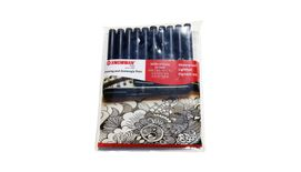 Snowman Drawing, Manga & Zentangle Pens - Set of 10