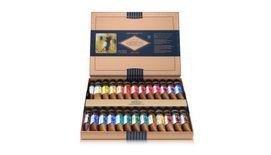 Mijello Mission Gold Class Pure Pigment Professional Grade Extra-Fine Watercolour - Set of 24 X 15 ml Tubes