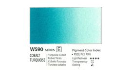 Mission Gold Professional Grade Extra-Fine Watercolour  - 15 ML - Cobalt Turquoise