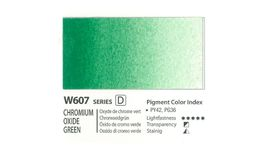 Mission Gold Professional Grade Extra-Fine Watercolour  - 15 ML - Chromium Oxide Green