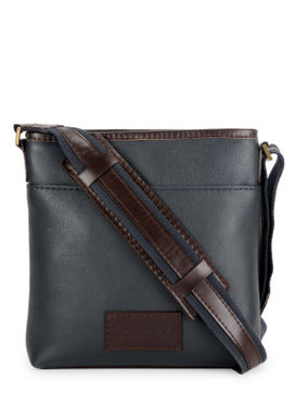 Men's Leather Messenger Bag - PR1132