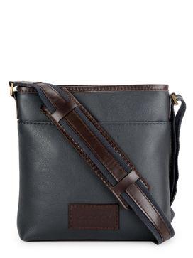 Men's Leather Messenger Bag - PR1132