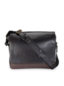 Men's Leather Messenger Bag - PR1133