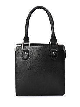 Women's Leather Handbag - PRU1334