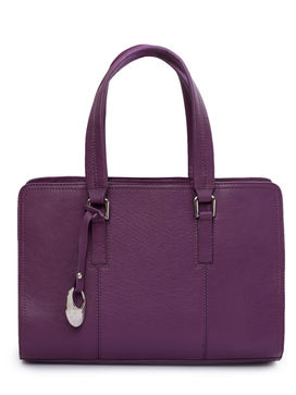 Women's Leather Handbag - PRU1335