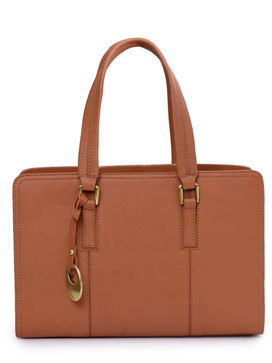 Women's Leather Handbag - PRU1336