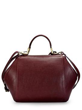 Women's Leather Satchel Bag - PR1063