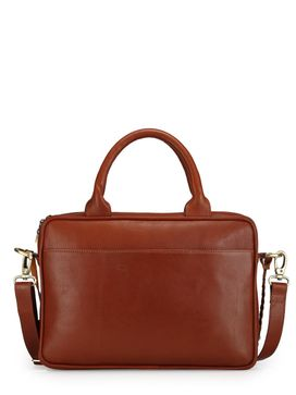 Women's Leather Laptop Bag - PR1037