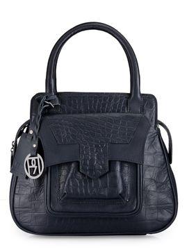 Women's Leather Satchel Bag - PR1044