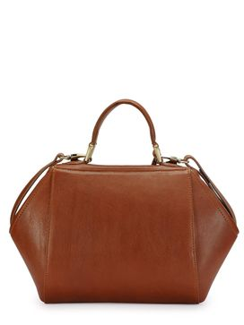 Women's Leather Satchel Bag - PR1064