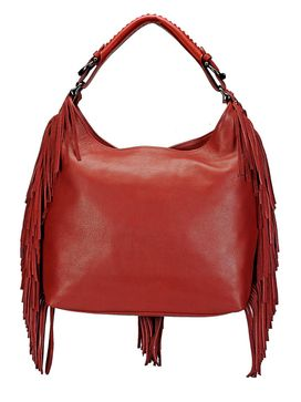 Women's Leather Hobo Bag - PR1069