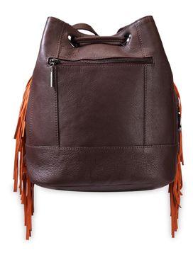 Women's Leather Shoulder Bag - PR1075