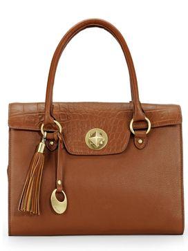 Women's Leather Shoulder Bag - PR1081