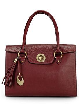 Women's Leather Shoulder Bag - PR1082