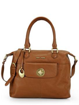Women's Leather Shoulder Bag - PR1084
