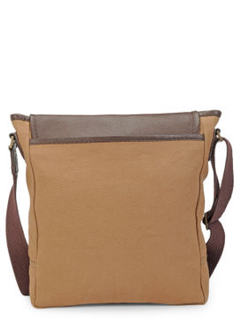 Men's Leather Messenger Bag - PR1105