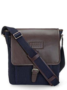 Men's Leather Messenger Bag - PR1106