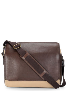Men's Leather Messenger Bag - PR1108