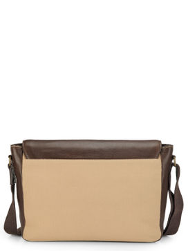 Men's Leather Messenger Bag - PR1111