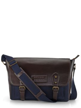 Men's Leather Messenger Bag - PR1112