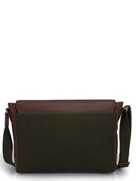Men's Leather Messenger Bag - PR1113