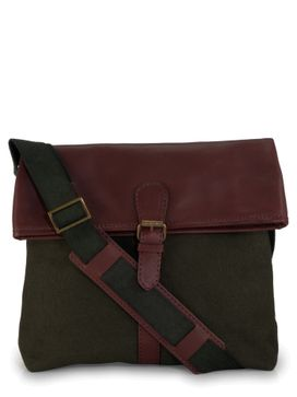 Men's Leather Messenger Bag - PR1116