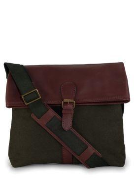 Men's Leather Messenger Bag - PR1116