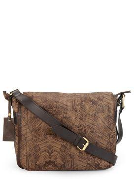 Leather Messenger Bag - PR1123