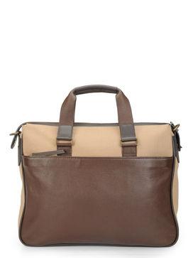 Men's Leather Laptop Bag/ Messenger Bag - PR1125