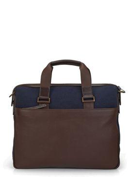 Men's Leather Laptop Bag/ Messenger Bag - PR1126