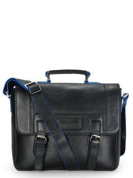 Men's Leather Messenger Bag - PR1127