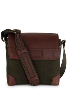 Men's Leather Messenger Bag - PR1154