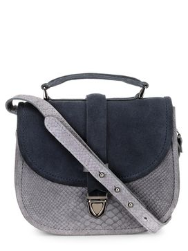 Women's Leather Crossbody Bag - PR1211