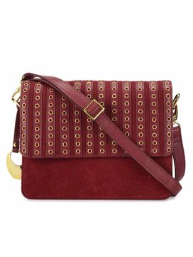 Women's Leather Crossbody Bag - PR1270