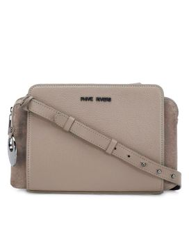 Women's Leather Crossbody Bag - PR1273