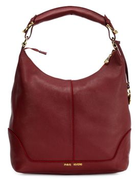 Women's Leather Hobo Bag - PR1275