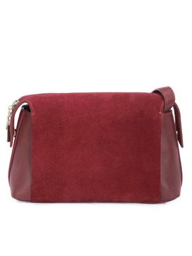Women's Leather Crossbody Bag - PR1291