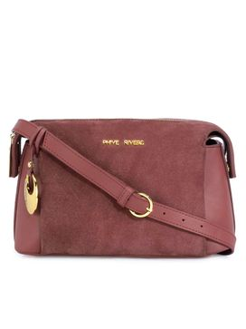Women's Leather Crossbody Bag - PR1292