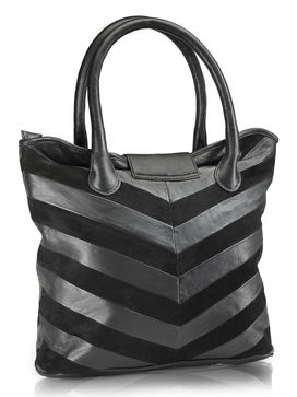Women's Leather Tote Bag - PR597