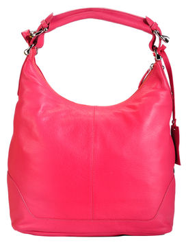 Women's Leather Hobo Bag - PR880