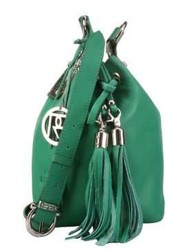 Women's Leather Crossbody Bag - PR882