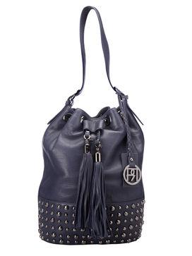 Women's Leather Shoulder Bag - PR909