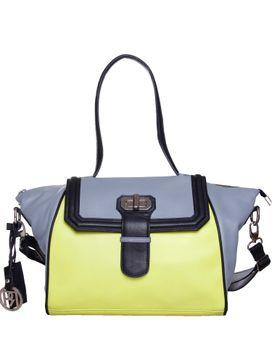 Women's Leather Shoulder Bag - PR924