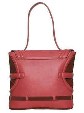 Women's Leather Shoulder Bag - PR926