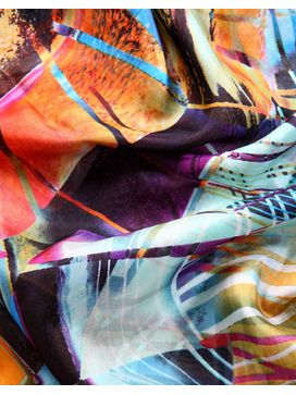 Phive Rivers Printed Scarf - PR944