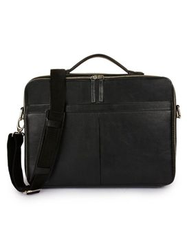 Men's Leather Messenger Bag - PRM1293