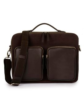 Men's Canvas Messenger Bag - PRM1295
