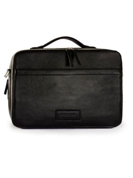 Men's Leather Messenger Bag - PRM1296