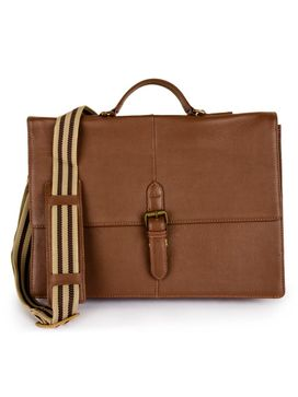 Men's Leather Messenger Bag - PRM1297
