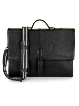 Men's Leather Messenger Bag - PRM1298